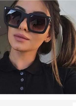 Óculos sol feminino máscara