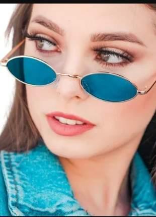 Óculos oval redondo