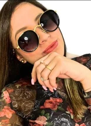Óculos escuro de sol feminino espelhado