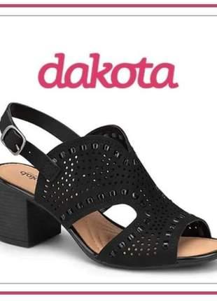 Sandália salto médio dakota