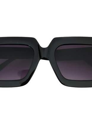 Óculos de sol quadrado acetato