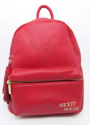Mochila mickey mouse feminina media disney gash
