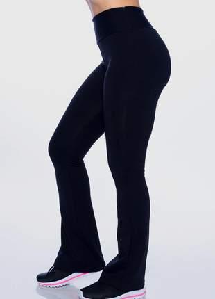 Calça legging feminina bailarina cintura alta