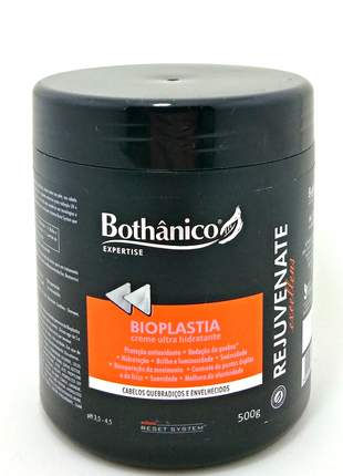 Mascara ultra hidratante bioplastia capilar rejuvenate bothanico hair 500g