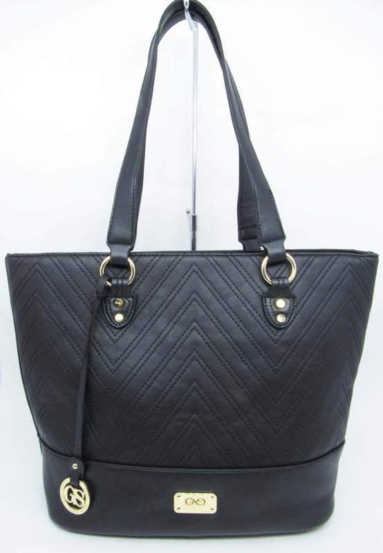 703b32926 Bolsa preta grande ombro basica tote shopper gash - R$ 139.99 (de ...