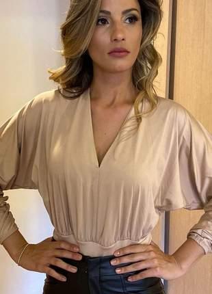 Body feminino com bojo manga longa barato lingerie roupas femininas