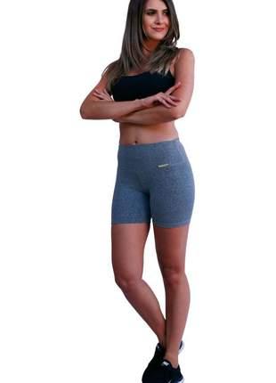 Short feminino cinza/mescla claro