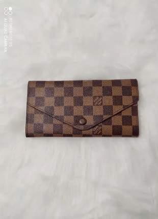 Carteira louis vuitton com porta cartão