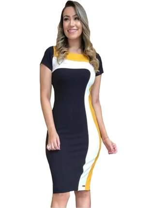 Vestido feminino evangelico midi tubinho luxo social eventos