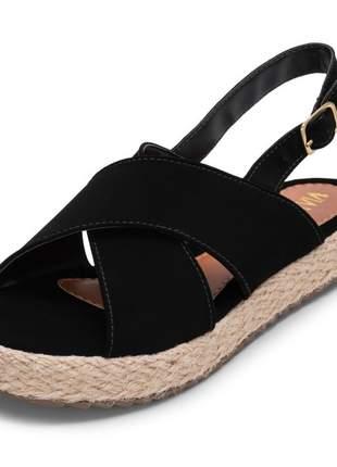 Sandália feminina flat form