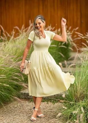 Vestido dress longuete