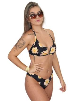 Biquini asa delta verão moda praia piscina 2021 pronta entrega com bojo forrado