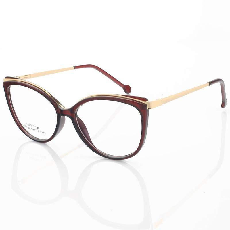 Armação de óculos gatinho alita 68199 vinho