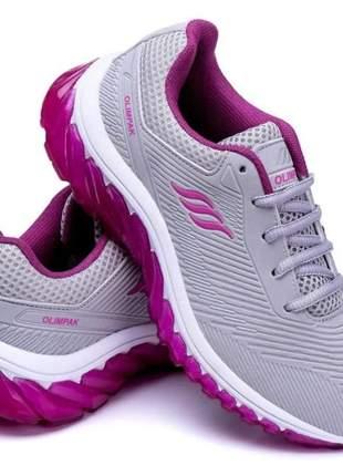 Tenis feminino esportivo olimpak para academia caminhada