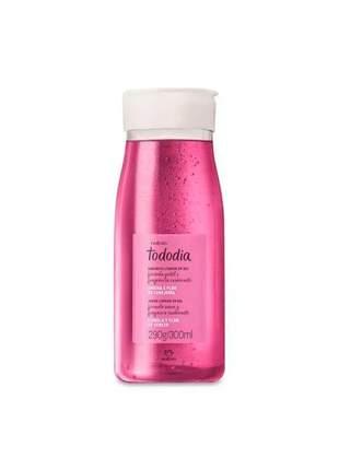 Sabonete líquido em gel ameixa e flor de cerejeira tododia natura 290g