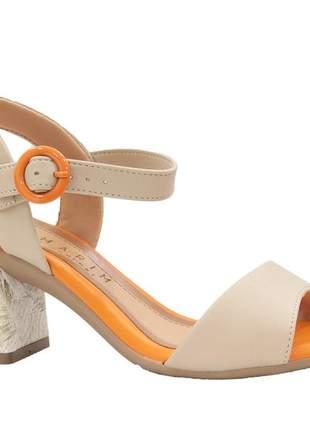 Sandália ramarim  feminino elegante confortável