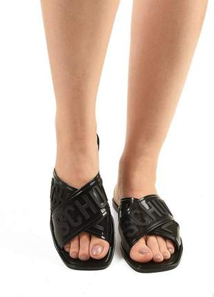 Sandalia feminina chinelo slide birken jellys schutz