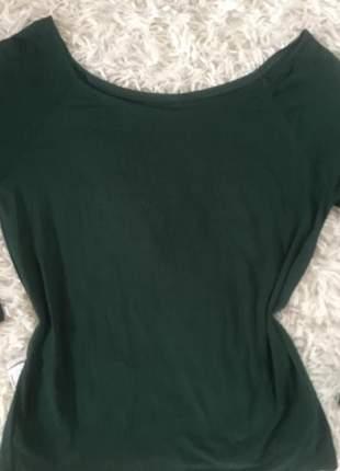 Blusa basica manga longa plus size tomara que cai ombro a ombro t-shirts blusinha