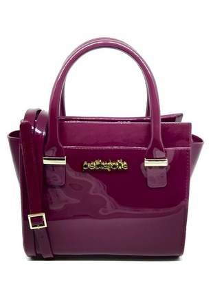 Bolsa petite jolie love bag pj2121 bordo
