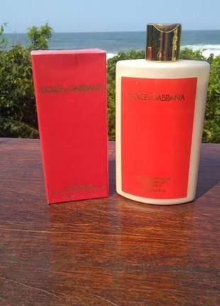 Kit hidratante + perfume dolce & gabbana importado