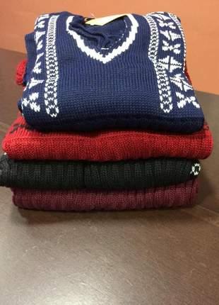 Vestido rendado de tricot