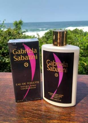 Kit hidratante + perfume gabriela sabatini importado