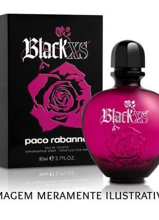 Perfume feminino black xs importado
