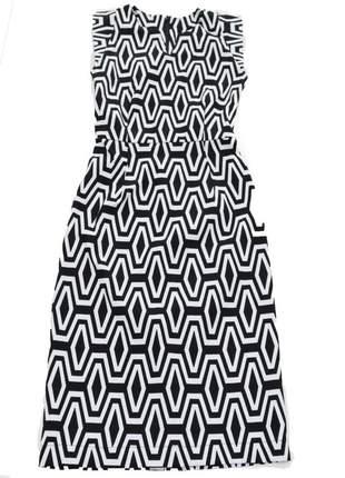 Vestido feminino justo estampado midi vestido032