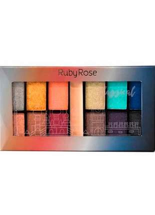 Paleta de sombras classical ruby rose