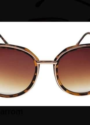 Óculos escuro feminino moda blogueira verão lançamento 2021