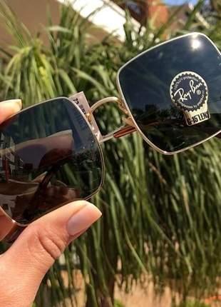 Óculos de sol feminino ray-ban square
