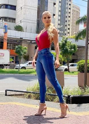 Calça skinny feminina jeans premium😍
