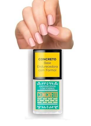 Base concreto endurecedor top beauty sos unhas 7ml