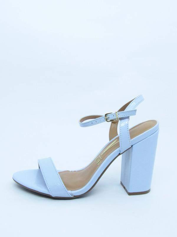 4b454e3072 Sandalia feminina vizzano azul claro lovers salto grosso verniz glam1 ...