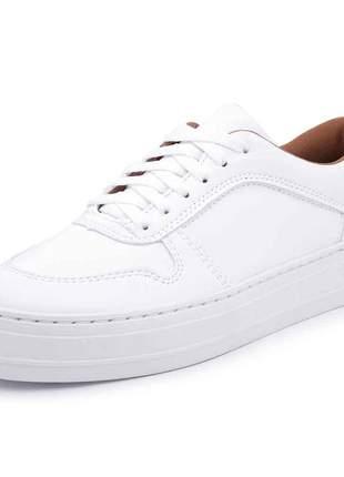 Tênis casual flatform mah 156 branco