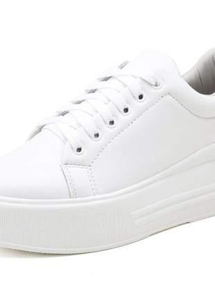 Tênis casual plataforma mah 169 branco