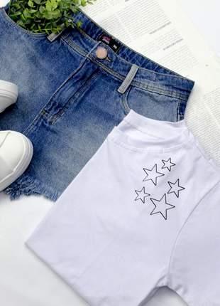 Tshirt blusinha camiseta stars estrelas t-shirt malha