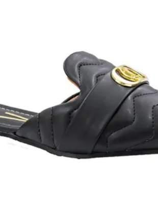Mule feminino preto vizzano coleção nova moda