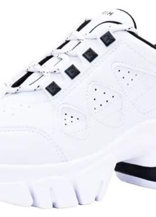 Tênis feminino branco preto ramarim  coleção nova