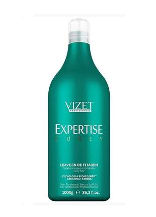 Leave-in de fitagem expertise curly vizet 1000ml