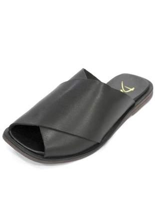Rasteira patricia dali shoes couro