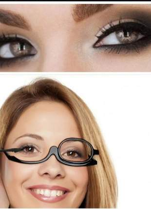 Óculos para maquiagem profissional perfeita com grau