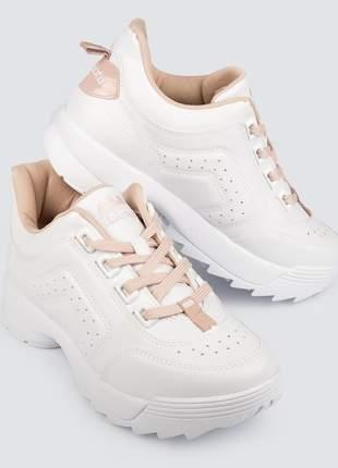 Tenis buffalo feminino sneaker dakota g0989