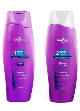 Kit shampoo + condicionador moist aloe vera mairibel