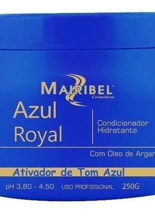 Máscara matizadora azul royal mairibel 250g