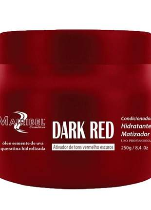 Máscara matizadora dark red mairibel 250g