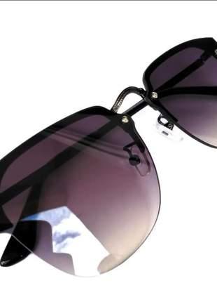 Óculos de sol feminino verão estiloso lançamento