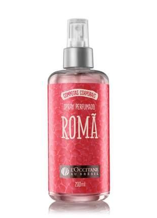 Colônia spray perfumado romã l'occitane au brésil - 200ml