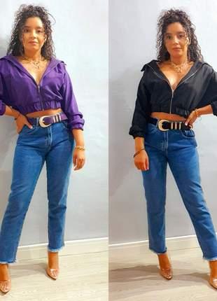 Jaqueta bomber fashion