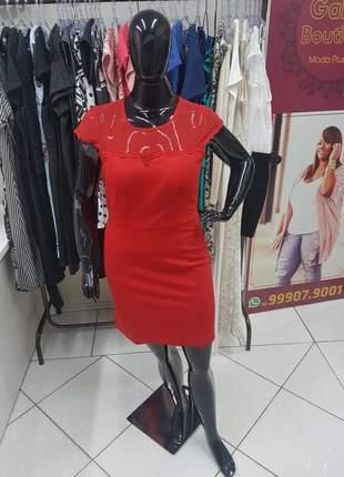 Vestido plus size tubinho